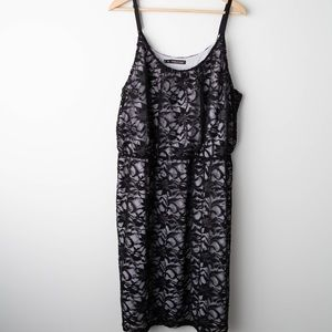 Maurices | Black Lace Dress | 2X